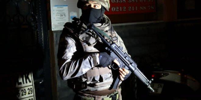 İstanbul'da gece operasyonu