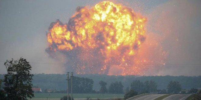 Ukrayna'da patlama: Binlerce insan tahliye edildi!