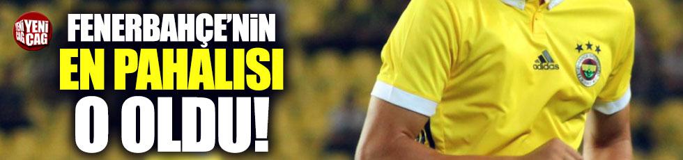 Fenerbahçe'nin en pahalı oyuncusu o