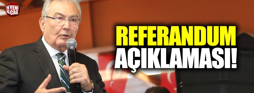 Baykal'dan referandum açıklaması
