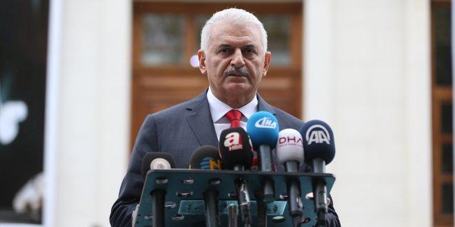 """Yıldırım: """"Erbil ve Süleymaniye'ye uçuşlar durdurulacak!"""""""