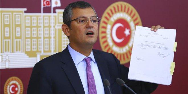 """CHP: """"Torba tasarı Sarayın faturası"""""""