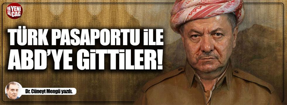 Washington görüşmelerine kırmızı Türk pasaportuyla gittiler