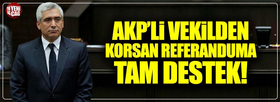 AKP'li Ensarioğlu'ndan sözde 'Kürdistan' referandumuna tam destek!