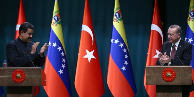 Maduro'dan Türkiye ile ilgili çarpıcı sözler