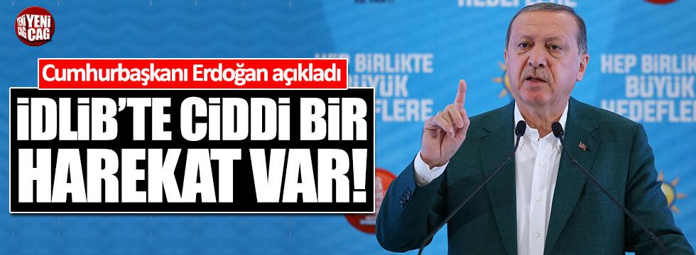 Erdoğan: İdlib'te ciddi bir harekat var