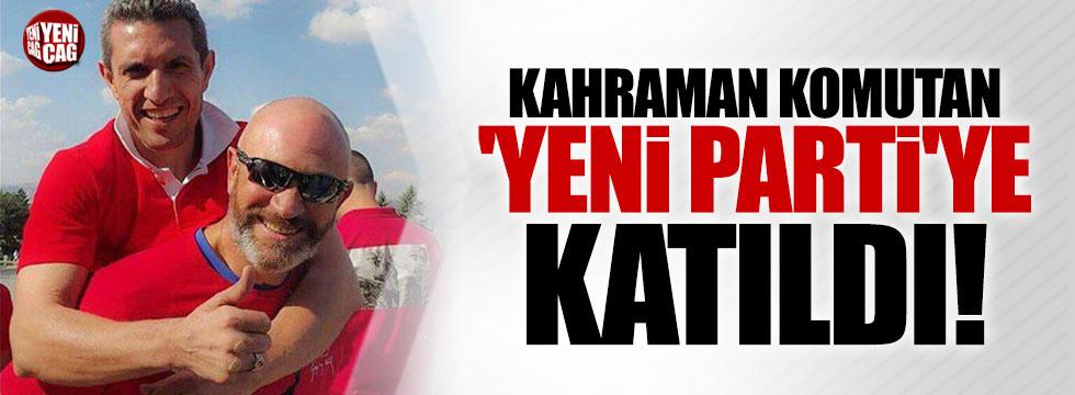 Ali Türkşen 'Yeni Parti'ye katıldı