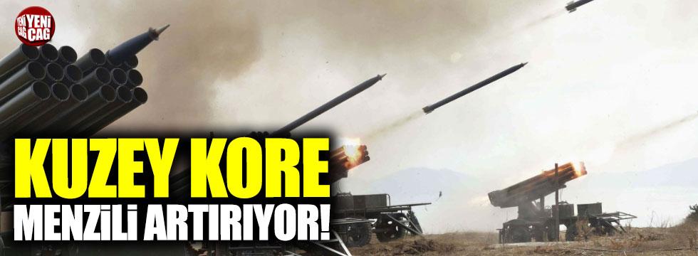 Kuzey Kore füze menzilini artırıyor