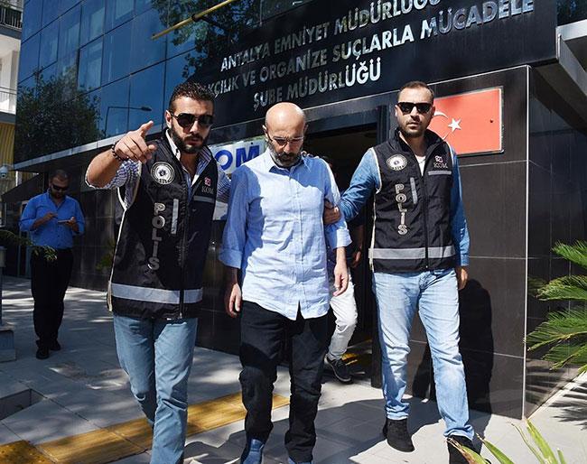 Merkez Valisi Hasan Kürklü tutuklandı