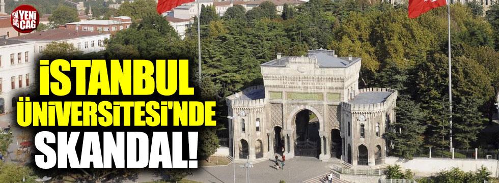 İstanbul Üniversitesinde not skandalı