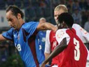 Tranzospor UEFAya erken veda etti