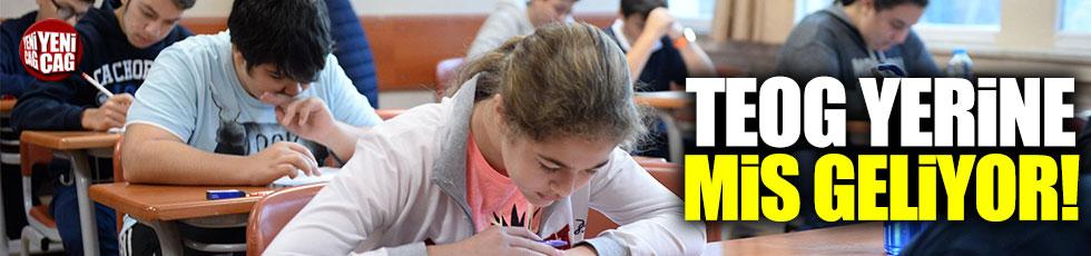 TEOG'un yerine gelen Milli İzleme Sınavı(MİS) geliyor
