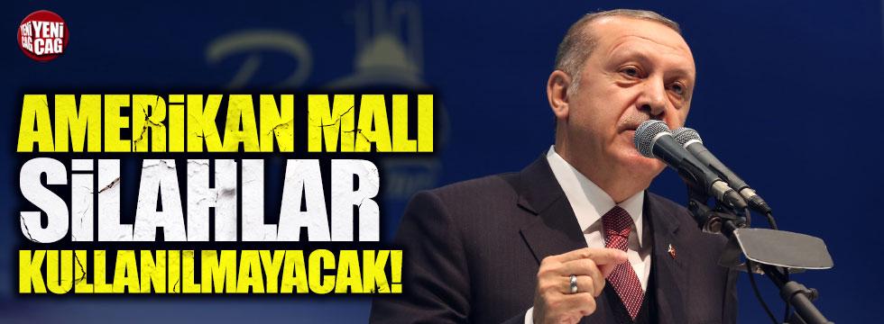 """Erdoğan: """"Sig Sauer diye silah bundan sonra emniyet teşkilatımızda kullanılmayacak"""""""
