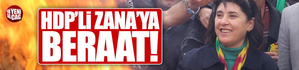 HDP'li Leyla Zana'ya beraat