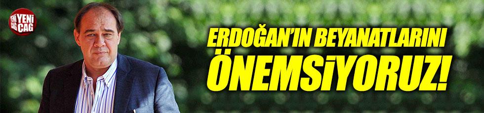 """Demirören: """"Yabancı sınırı konusunda Erdoğan'ın beyanatlarını önemsiyoruz"""""""