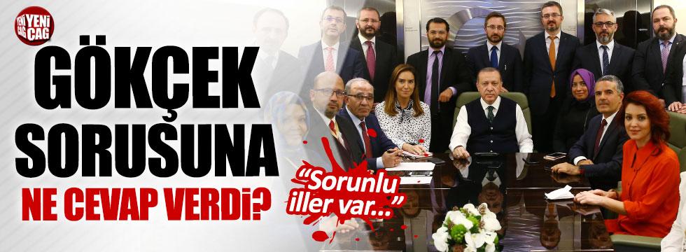 Erdoğan'dan Gökçek açıklaması
