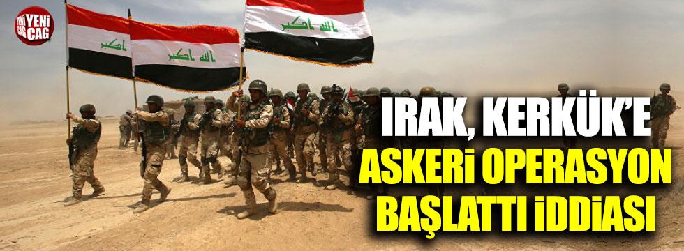 Irak'tan Kerkük'e operasyon iddiası