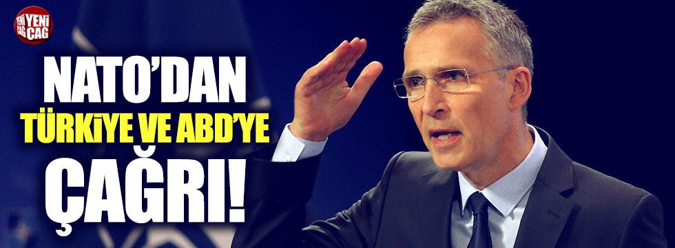 NATO'dan Türkiye ve ABD'ye çağrı