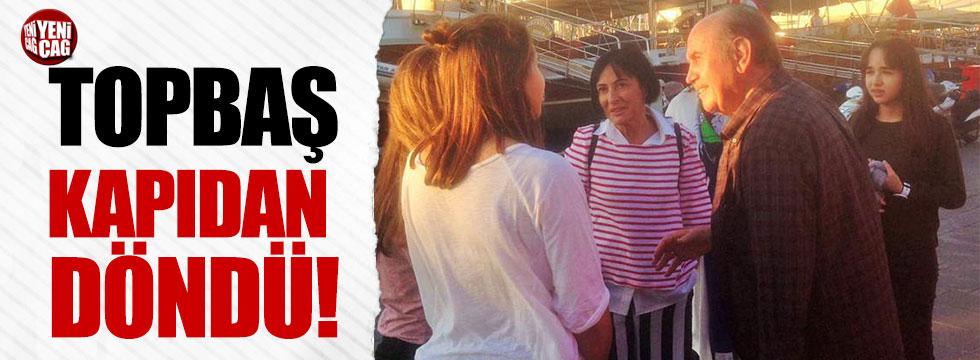 Kadir Topbaş Bodrum'da kapıda kaldı