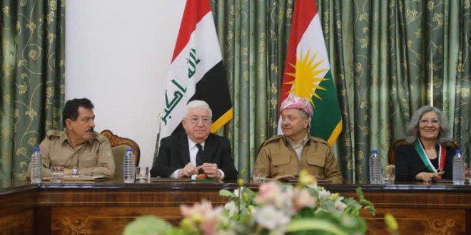 Masum- Barzani görüşmesi