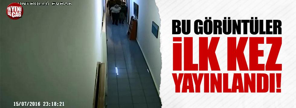 Akıncı Üssü Karargah binasının koridor görüntüleri ilk kez ortaya çıktı