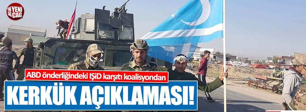 ABD önderliğindeki IŞİD karşıtı koalisyondan Kerkük açıklaması