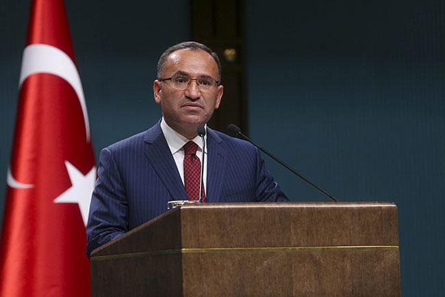 Bozdağ: Türk hava sahası Irak'ın kuzeyine uçuşa kapatıldı
