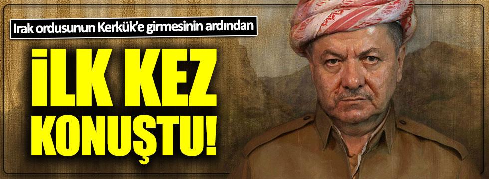 Barzani'den ilk açıklama geldi