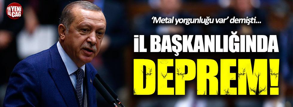 AKP Konya İl Başkanı ve yönetimi istifa etti