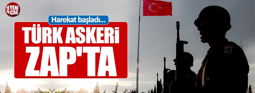 TSK, Zap bölgesine harekat başlattı