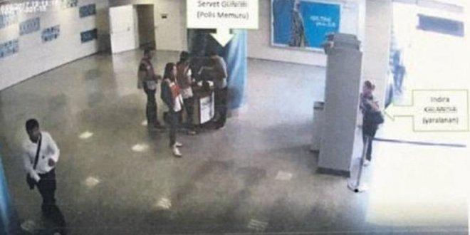 Polis memuru yanlışlıkla yolcuyu vurdu