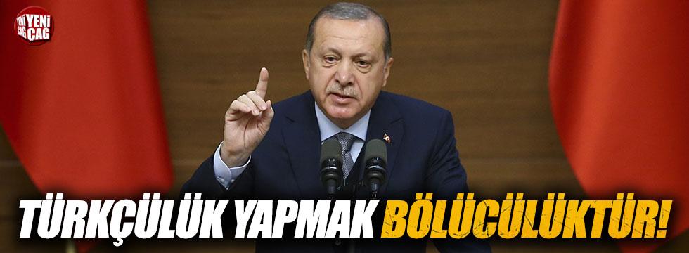 Image result for erdoğan türkçülük bölücülüktür