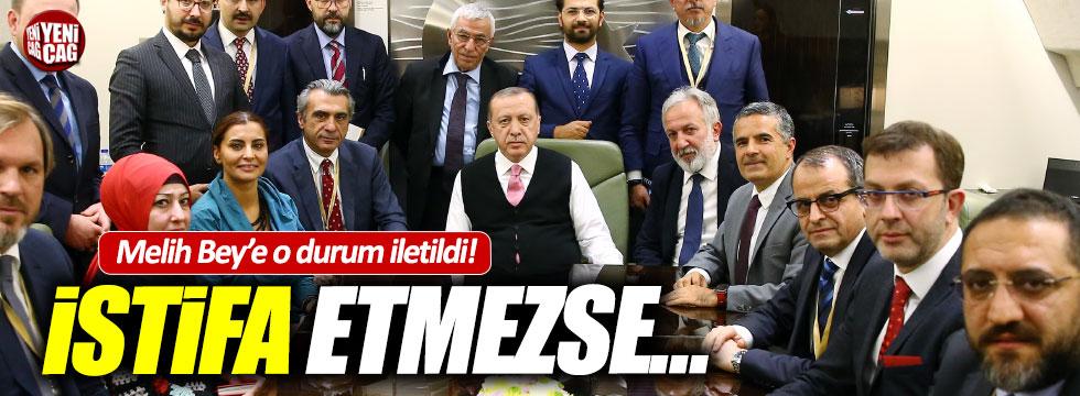 """Erdoğan: """"Başkanlar görevi bırakmazsa neticeleri ağır olur"""""""