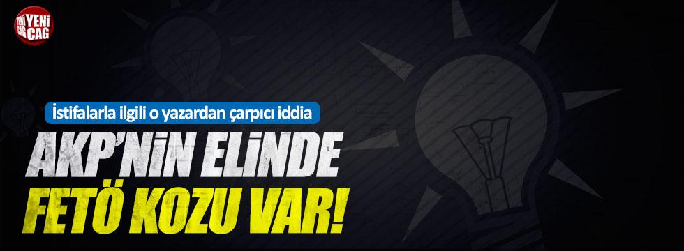 "Altaylı, ""AKP'nin elinde FETÖ kozu var"""