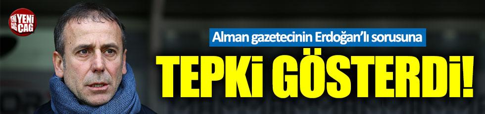 Abdullah Avcı, Alman gazetecinin Erdoğan'lı sorusuna tepki gösterdi