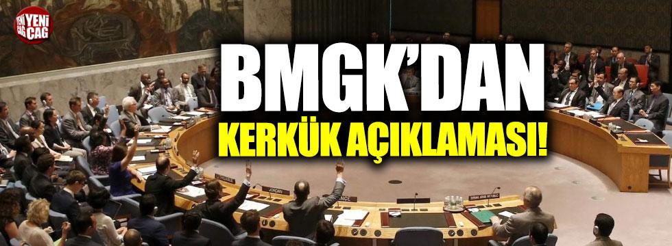 BM'den Kerkük açıklaması