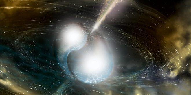 Astronomide Bir İlk : Nötron Yıldızlarının Çarpışması Gözlendi