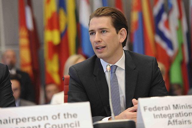 Dünyanın en genç lideri Kurz'dan 'Türkiye' çıkışı