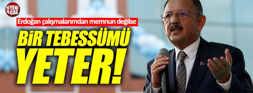 """Özhaseki: """"Erdoğan çalışmalarımdan memnun değilse bir tebessümü yeter"""""""