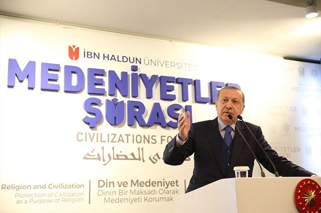 Erdoğan: Trump kendini masaya yatırsın, ABD'de işler iyi gitmiyor