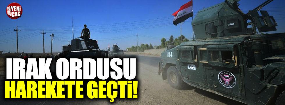 """Peşmerge duyurdu: """"Irak ordusu harekete geçti"""""""