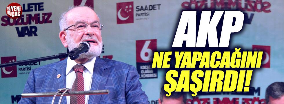 """Karamollaoğlu: """"AKP ne yapacağını şaşırdı"""""""