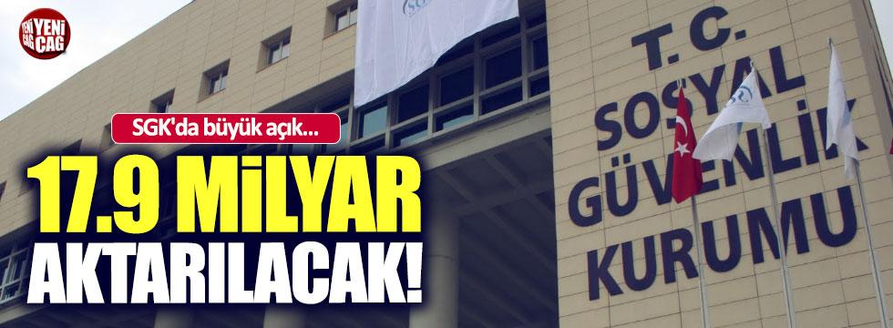 SGK'daki büyük açığa devlet desteği