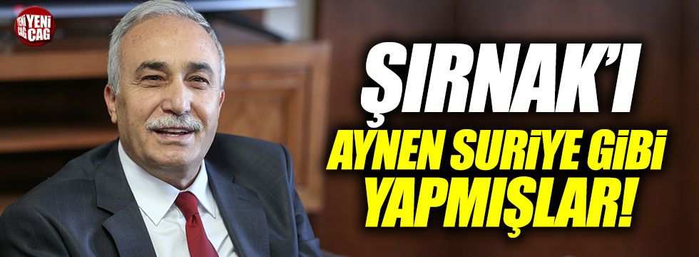"""Fakıbaba: """"Şırnak'ı aynen Suriye gibi yapmışlar"""""""