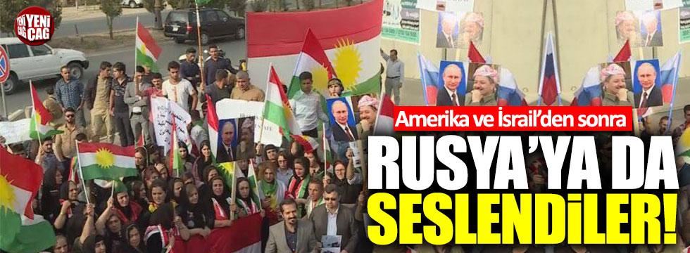Barzani destekçilerinden Putin'li eylem!