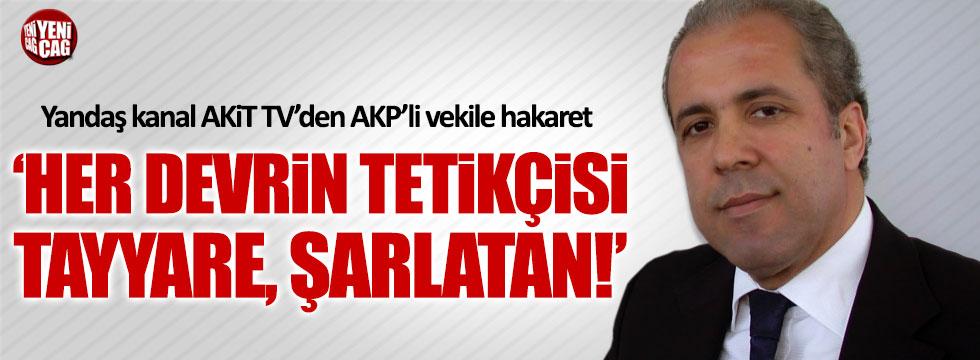 AKP'nin kanalında Şamil Tayyar'a ağır hakaretler