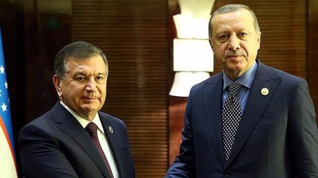 Mirziyoyev Türkiye'ye geliyor