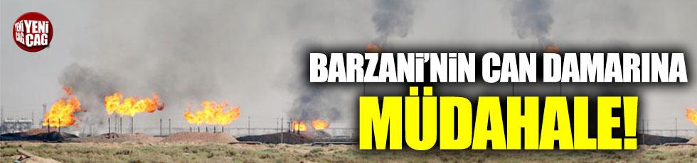 Barzani'nin can damarına müdahale!