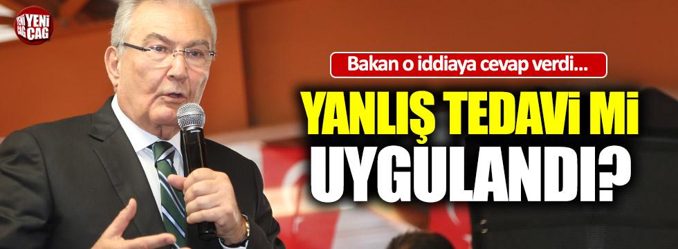 Baykal'a 'yanlış tedavi' iddialarına Bakan'dan cevap