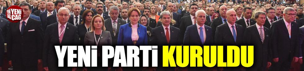 Meral Akşener İyi Parti'yi ilan etti